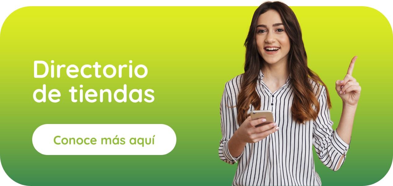Directorio de tiendas Centro Comercial Monterrey